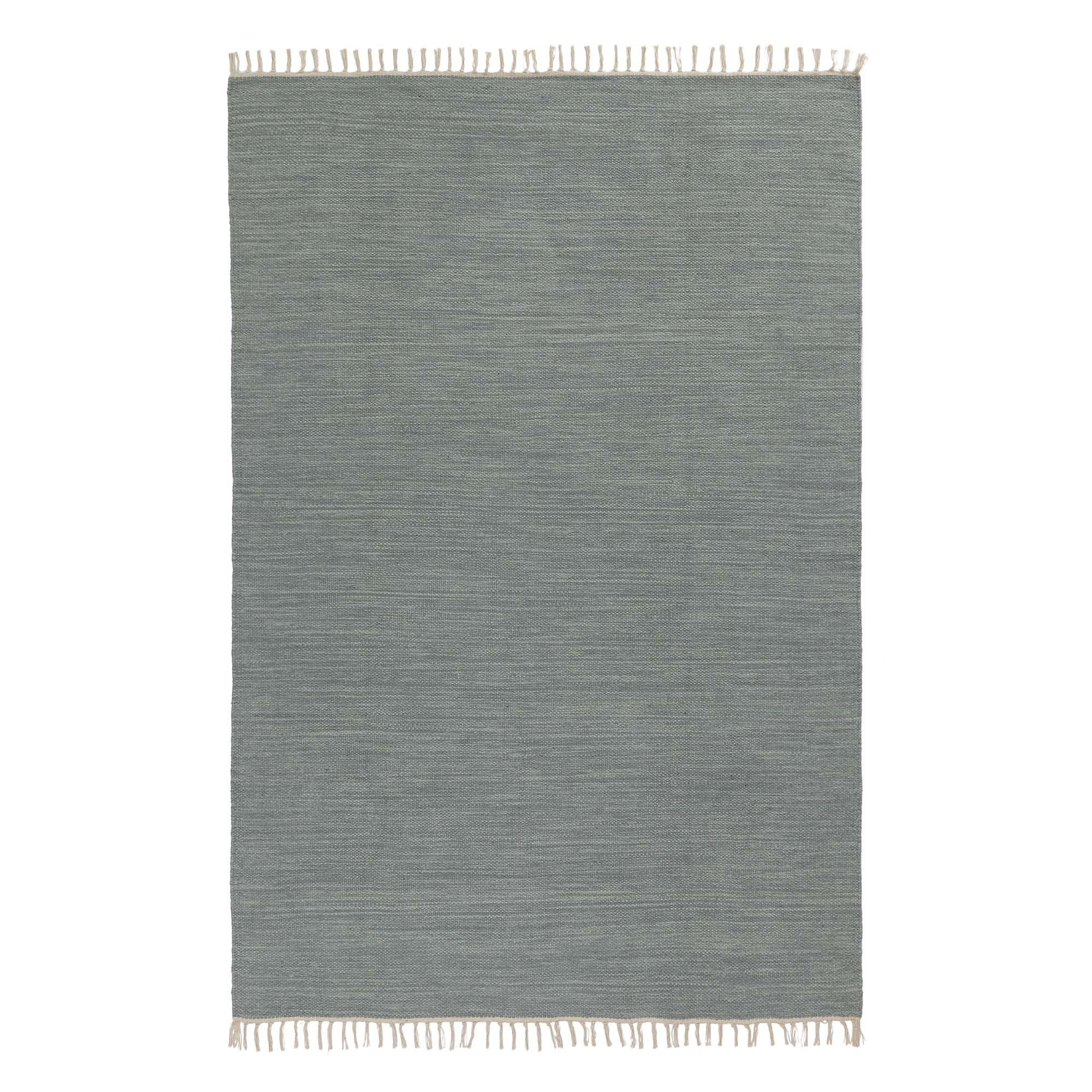 Green grey melange Akora Teppich | Home & Living inspiration | URBANARA