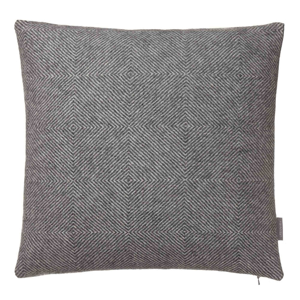 Alanga cushion cover in grey melange & off-white, 100% baby alpaca wool |Find the perfect cushion covers