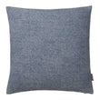 Alanga cushion cover, denim blue & off-white, 100% baby alpaca wool | URBANARA cushion covers