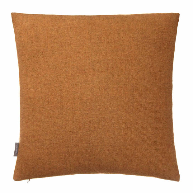 Alanga cushion cover, mustard & off-white, 100% baby alpaca wool |High quality homewares