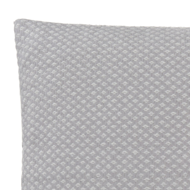 Alashan Cushion light grey & cream, 100% cashmere wool | Find the perfect cushion covers