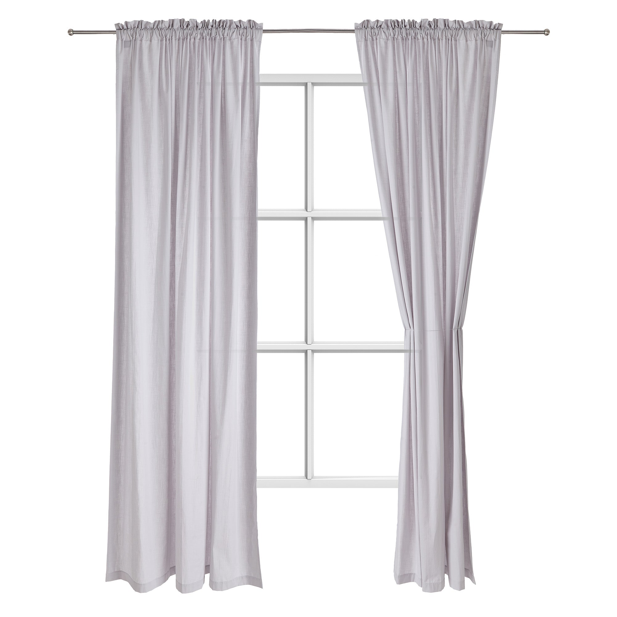 Alegre curtain [Silver grey]