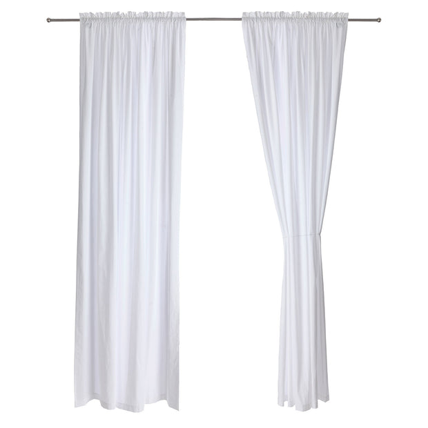 Alegre curtain, white, 100% cotton |High quality homewares
