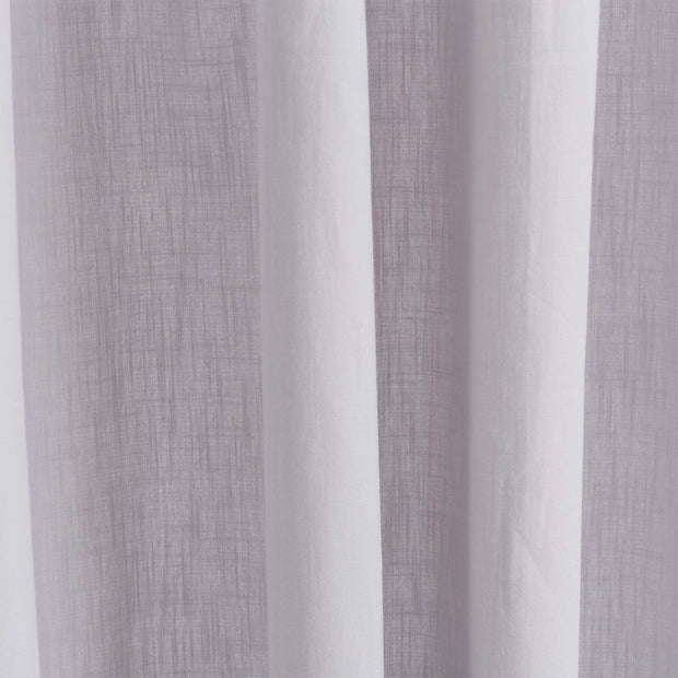Alentejo Curtain Set silver grey, 100% cotton | Find the perfect curtains