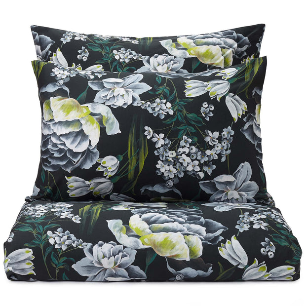 Almadena pillowcase, forest green & multicolour, 100% cotton