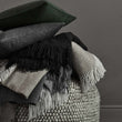 Corcovado Alpaca Blanket grey & off-white, 50% alpaca wool & 50% merino wool | High quality homewares