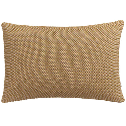 Alvor Cushion Cover mustard & off-white, 100% cotton