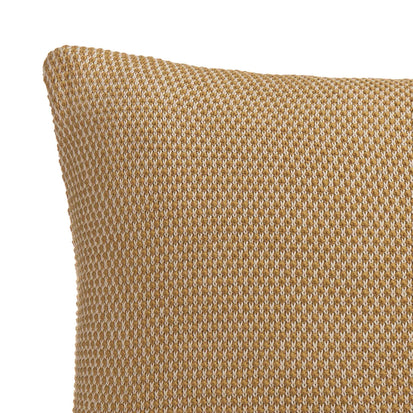 Alvor Cushion Cover in mustard & off-white | Home & Living inspiration | URBANARA