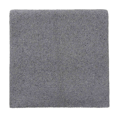 Amaro Recycled Fiber Blanket light grey melange, 100% recycled fibers