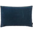 Amreli cushion, teal & natural, 100% cotton & 100% linen