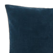 Amreli cushion, teal & natural, 100% cotton & 100% linen | URBANARA cushion covers