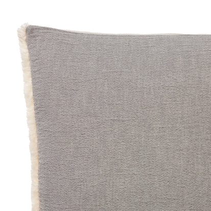 Anaba Cushion Cover in grey & natural white | Home & Living inspiration | URBANARA
