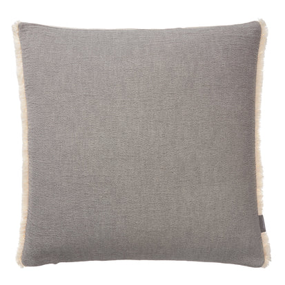 Anaba Cushion Cover grey & natural white, 100% cotton