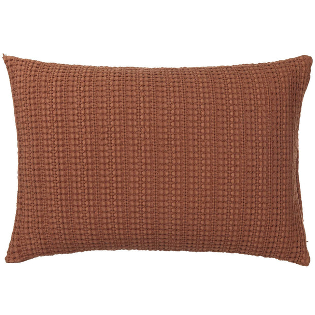 Anadia Cushion Cover terracotta, 100% cotton
