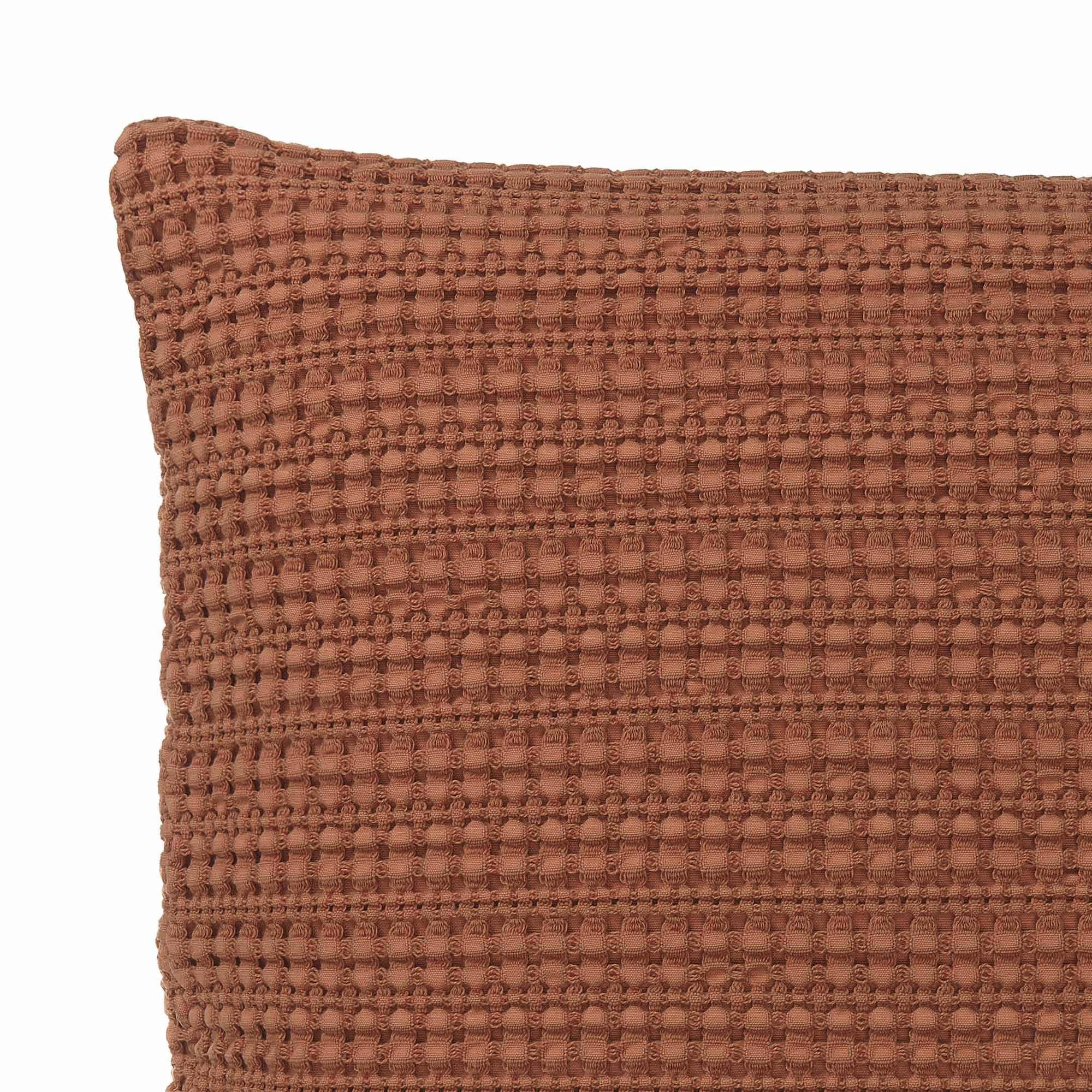 Anadia Cushion Cover [Terracotta]