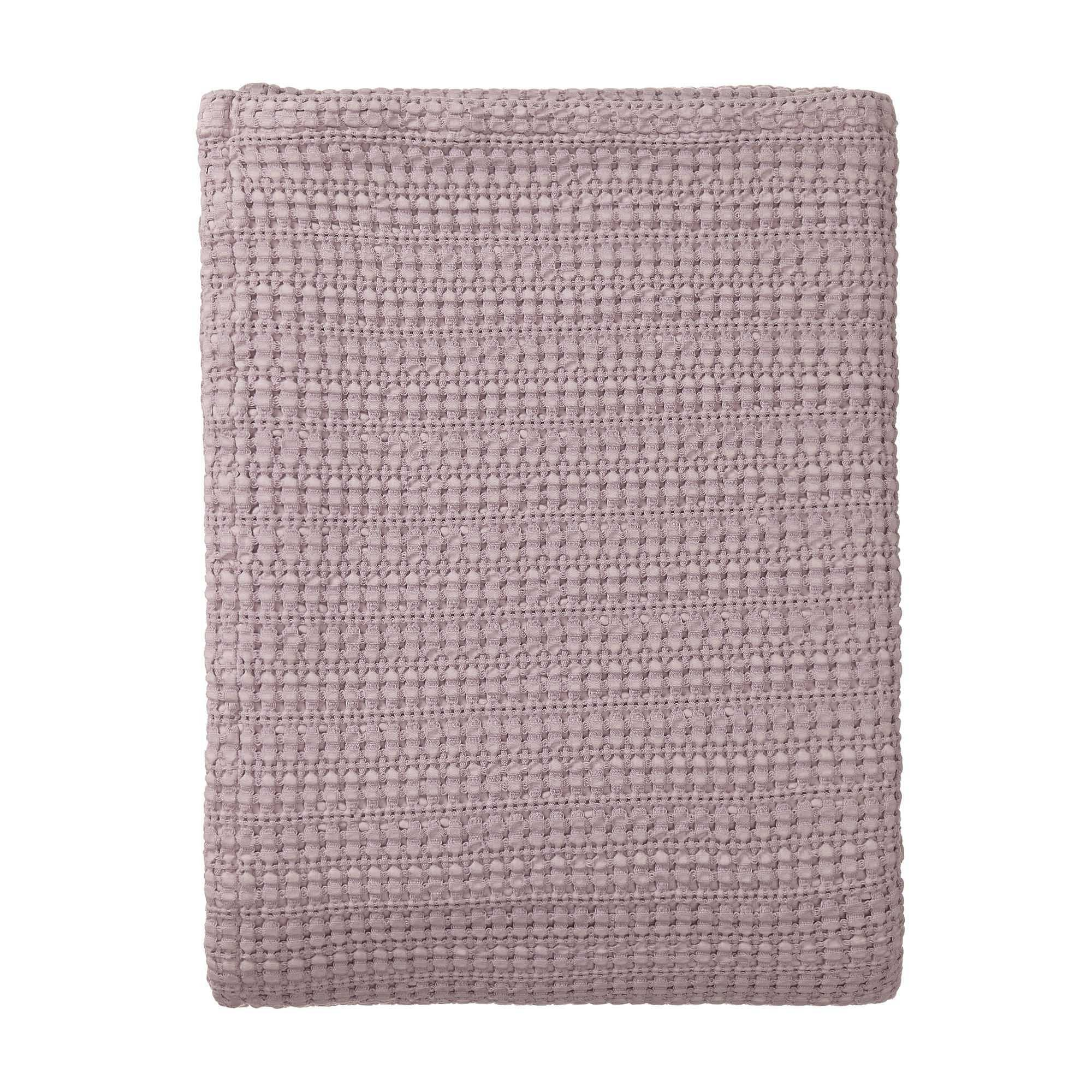 Anadia Throw [Light mauve]