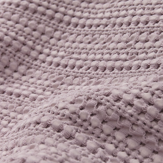 Anadia bedspread, light mauve, 100% cotton | URBANARA bedspreads & quilts