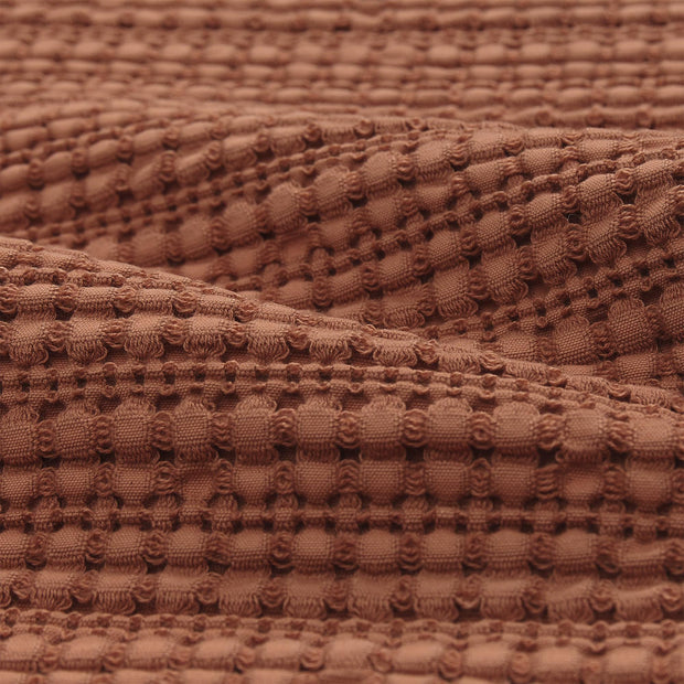 Anadia Cushion Cover terracotta, 100% cotton | URBANARA cushion covers