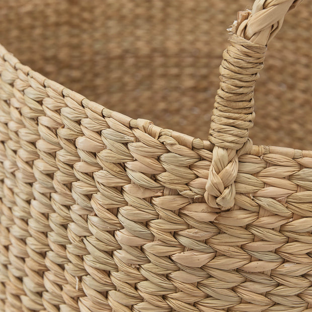 Anjora Storage natural, 100% kauna grass | URBANARA storage baskets