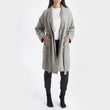 Antero Bathrobe in light grey | Home & Living inspiration | URBANARA