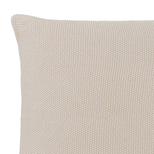 Antua cushion cover, cream, 100% cotton | URBANARA cushion covers