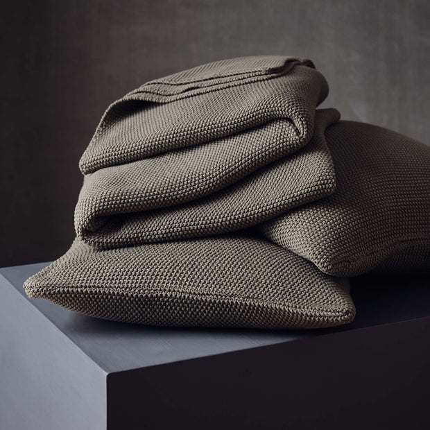 Antua Cotton Blanket [Olive green]