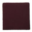 Antua Cotton Blanket bordeaux red, 100% cotton