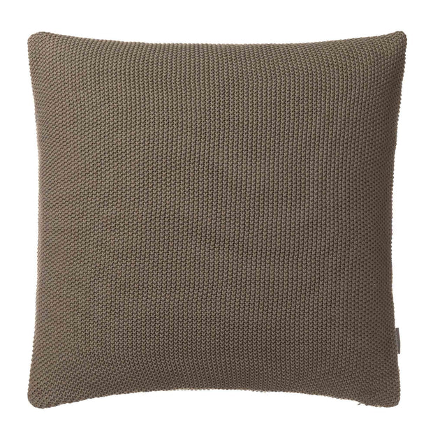 Antua cushion cover, olive green, 100% cotton | URBANARA cushion covers