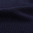 Antua scarf, dark blue, 100% cotton | URBANARA hats & scarves
