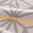 Arade beach towel, powder pink & grey & yellow, 100% cotton |High quality homewares
