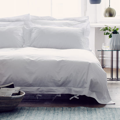 Arles Duvet Cover in white | Home & Living inspiration | URBANARA