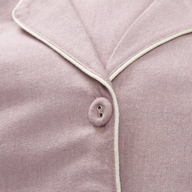 Arove Nightshirt light mauve & natural white, 100% organic cotton | Find the perfect nightwear