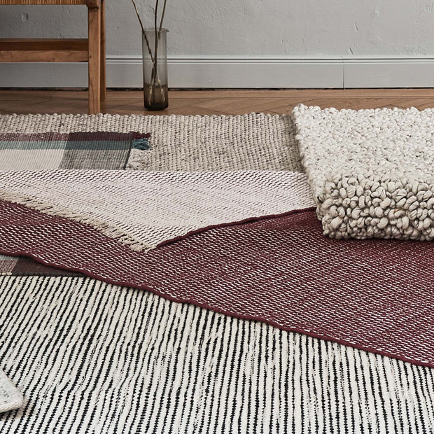 Udana wool rug [Natural white]