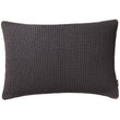 Azoia cushion cover, dark grey & grey, 100% organic cotton