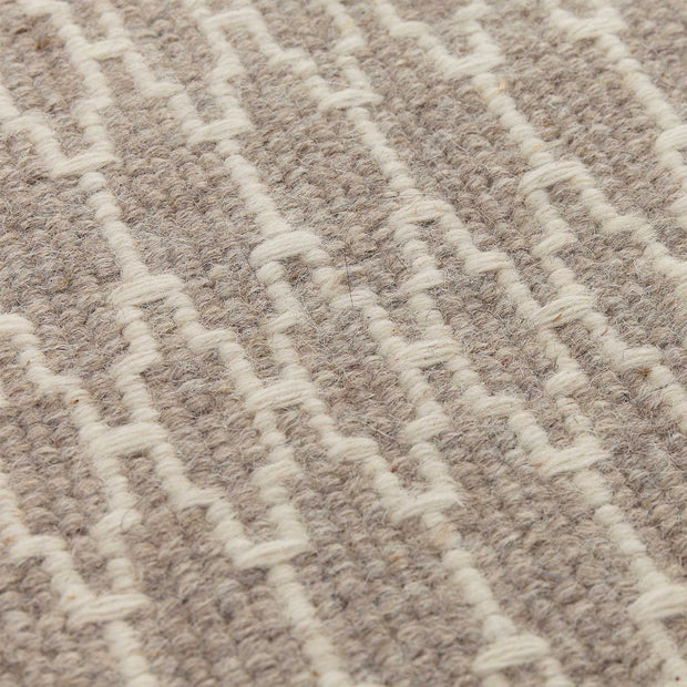 Badela rug in natural & ivory, 100% wool |Find the perfect wool rugs