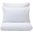 Balaia pillowcase, white, 100% combed cotton