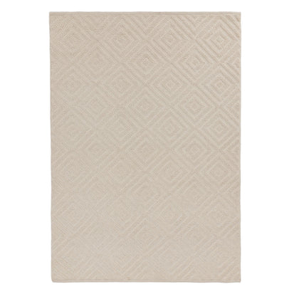 Barod Rug natural white, 100% wool