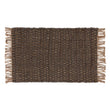 Baruva Doormat grey & natural, 100% jute