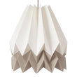 Belia pendant lamp, ivory & natural & natural white, 100% paper |High quality homewares