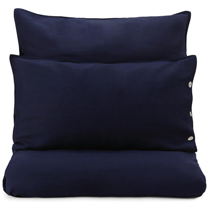 Bellvis Bed Linen dark blue, 100% linen