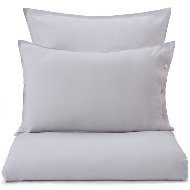 Bellvis Bed Linen light grey, 100% linen