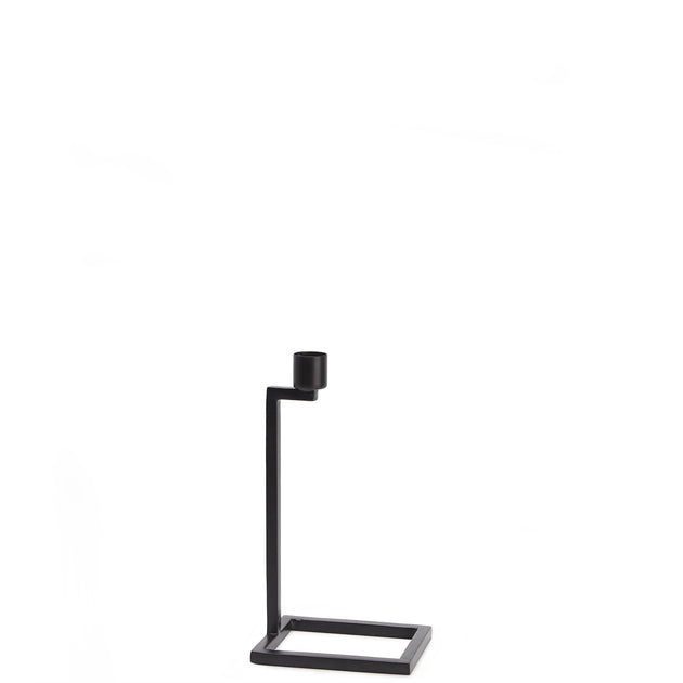 Betwa Candle Holder in black | Home & Living inspiration | URBANARA