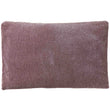 Calcada cushion bordeaux red & white, 60% cotton & 40% acrylic | URBANARA cushion covers