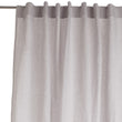 Cataya Linen Curtain light grey & light pink, 100% linen | URBANARA curtains