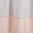 Cataya Linen Curtain light grey & light pink, 100% linen | High quality homewares