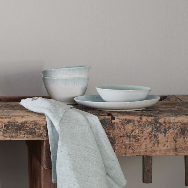 Caima Plate Set blue grey, 100% ceramic | Find the perfect plates & bowls