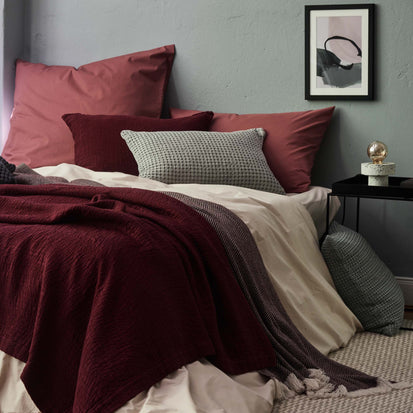 Perpignan Pillowcase [Raspberry rose]