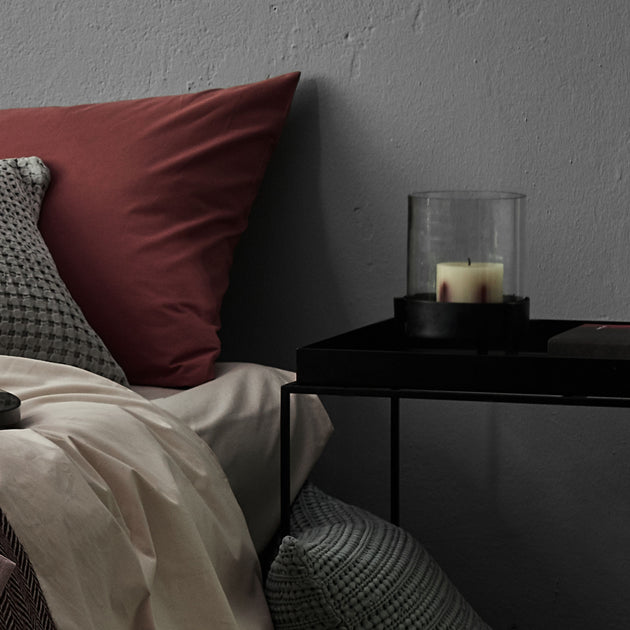 Ozar Windlight Candle Holder in black | Home & Living inspiration | URBANARA