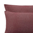 Bordeaux red & Natural white Coelho Bettdeckenbezug | Home & Living inspiration | URBANARA