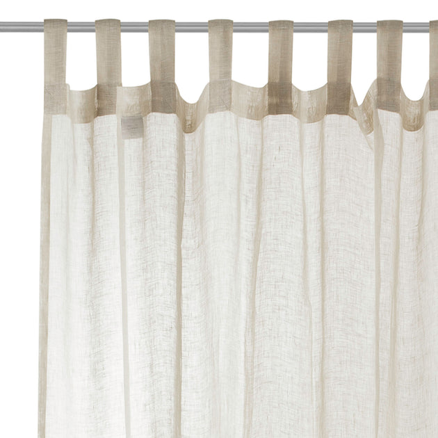 Cotopaxi Linen Curtain in beige | Home & Living inspiration | URBANARA